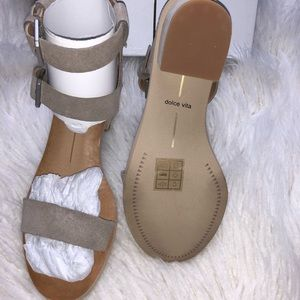 336ed5636b99 Dolce Vita Shoes - Dolce Vita West Dual Ankle Strap Taupe Sandals